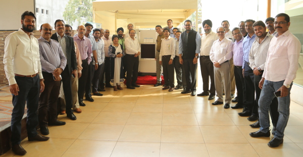 A.T.E.-HMX team along with the channel partners at the IDECool launch