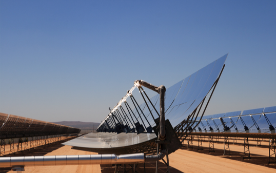Concentrated Solar Thermal Unit