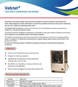 Valstat® Table Top Ionising Blower