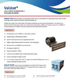 Valstat® Fan Based Static Eliminator