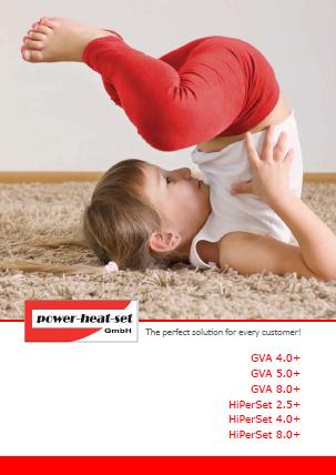 GVA + HiPerSet carpet yarn heat setting machine