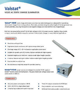 Valstat® VS 20 Active AC Static Eliminator