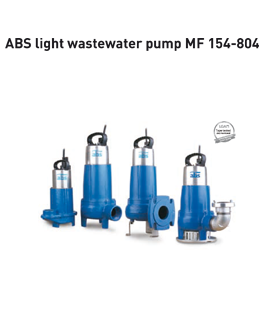 Sulzer (ABS) MF 154-804 light wastewater pumps