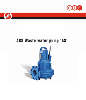 Sulzer (ABS) AS wastewater pump