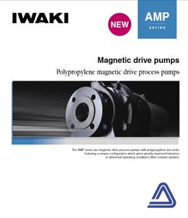 Iwaki AMP series magnetic drive pumps