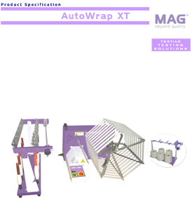 MAG Autowrap XT: motorised wrap reel