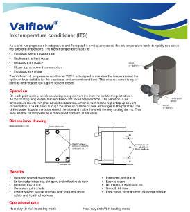 Valflow® Ink temperature conditioner (ITS)