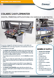 COLARIS Sample Printer