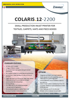 COLARIS 12-2200 Small Production Printer