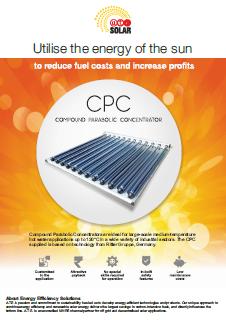 A.T.E. CPC - Compound Parabolic Concentrator