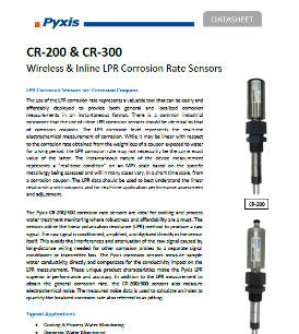 CR-200 and CR-300 | Wireless and inline LPR corrosion rate sensors