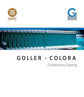 Goller Colora continuous dyeing range