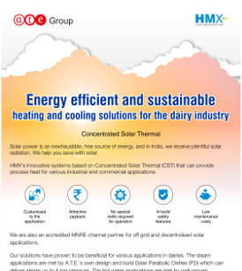 Energy efficient and sustainable heating and cooling solutions for the dairy industry