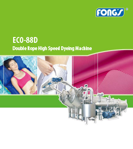 Fong's ECO-88D Double Rope High Speed Dyeing Machine