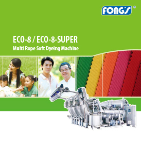 Fong's ECO-8 / ECO-8-SUPER Multi Rope Soft Dyeing Machine