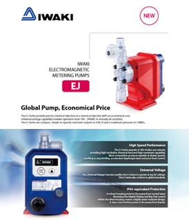 Iwaki EJ series electromagnetic metering pumps