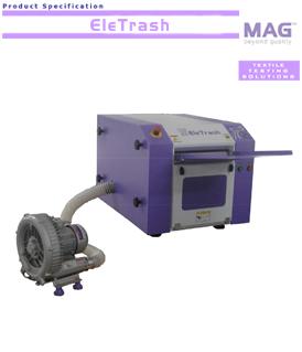 MAG EleTrash electronic trash separator