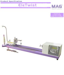 MAG EleTwist electronic yarn twist tester