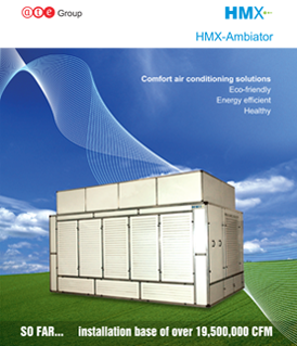HMX-Ambiator: revolutionary indirect and direct evaporative cooling system