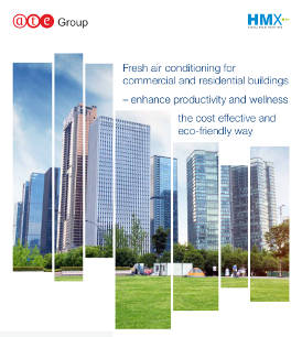 Fresh air conditioning for commercial and residential buildings