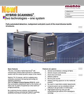 Mahlo Hybrid Scanning system