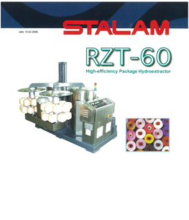Stalam RZT-60 high-efficiency package hydroextractor
