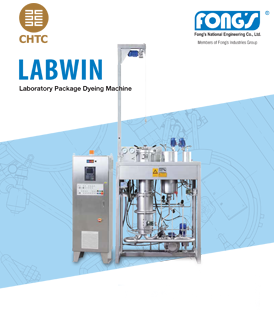 Fong's Labwin P Laboratory Package Dyeing Machine