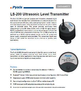 LS-200 ultrasonic level transmitter