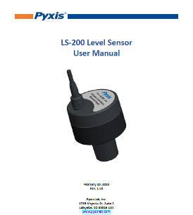 LS-200 level sensor user manual