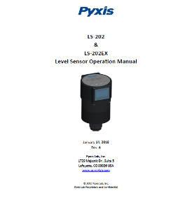LS-202 and LS-202 EX level sensor operation manual