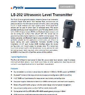 LS-202 ultrasonic level transmitter