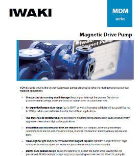 Iwaki MDM series