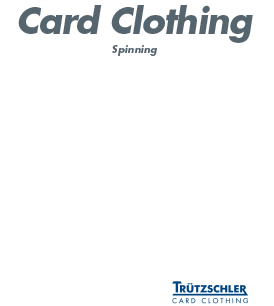 Trutzschler Card Clothing open end wire
