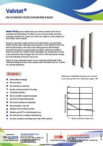 Valstat® Passive Discharge Brush