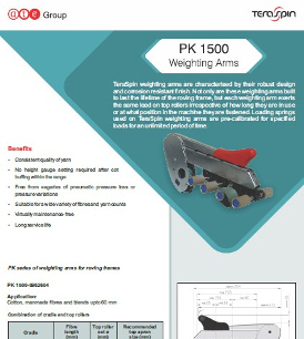 PK 1500 weighting arms