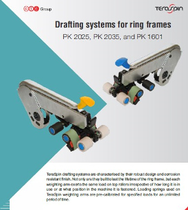 Drafting systems for ring frames