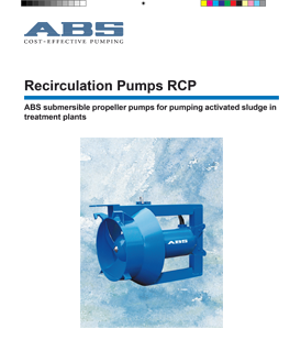 Sulzer (ABS) XRCP Recirculation Pumps RCP