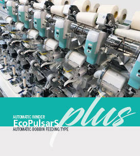 Automatic winder - EcoPulsarS Plus - automatic bobbin feeding type