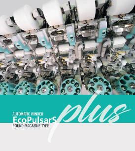 Automatic winder - EcoPulsarS Plus - round magazine type