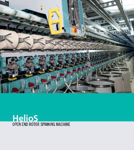 HelioS - open end rotor spinning machine