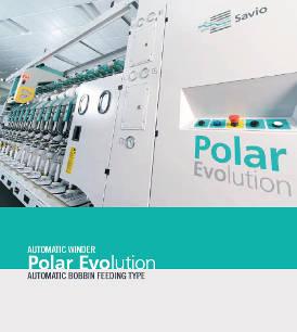 Automatic winder - Polar Evolution - automatic bobbin feeding type