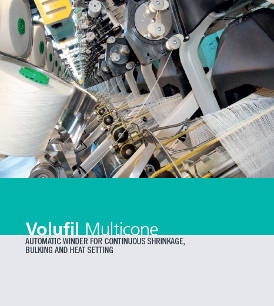 Volufil Multicone - Automatic winder for continuous shrinkage, bulking, and heat setting