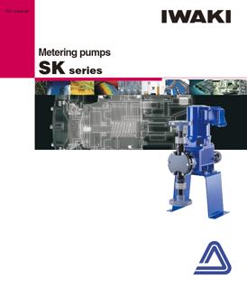 Iwaki SK Series metering pumps