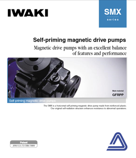 Iwaki SMX series self-priming magnetic drive pumps