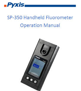 SP-350 Handheld Fluorometer Operation Manual