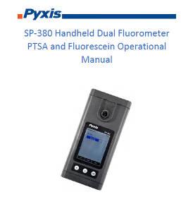 SP-380 Handheld Dual Fluorometer PTSA and Fluorescein Operational Manual