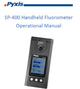 SP-400 Handheld Fluorometer Operational Manual