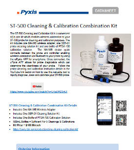 ST-500 Cleaning & Calibration Combination Kit