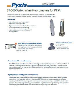 ST-500 Series Inline Fluorometers for PTSA