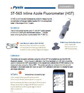 ST-565 inline Azole fluorometer (HST)